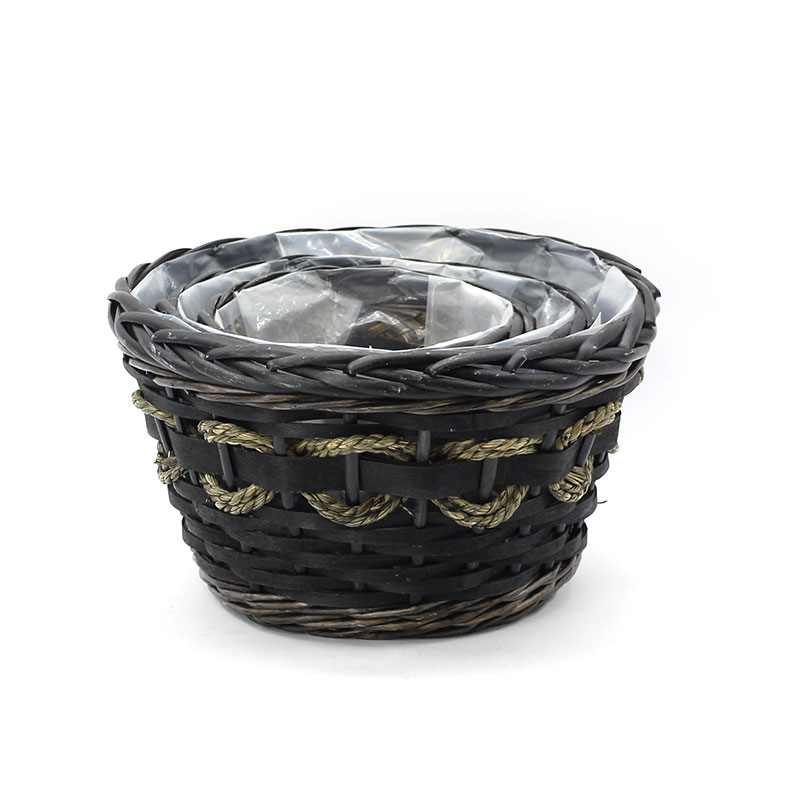 Yimeng Qingliu latest large wicker plant pot factory for outdoor-2