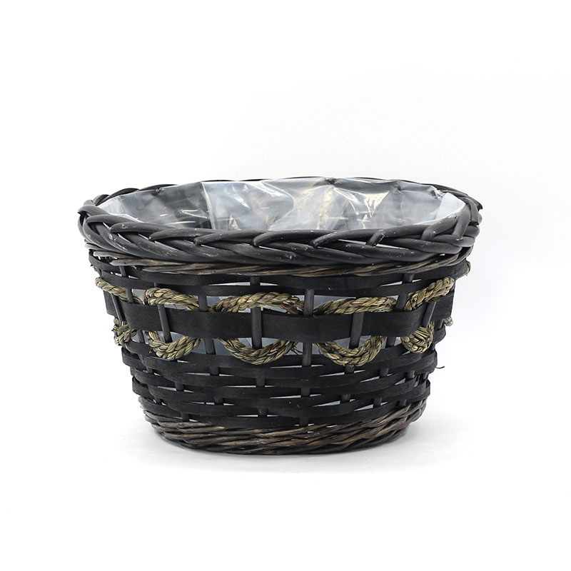 Yimeng Qingliu latest large wicker plant pot factory for outdoor-1