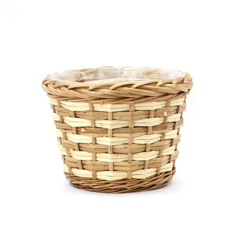 top large outdoor wicker planters supply for outdoor-2