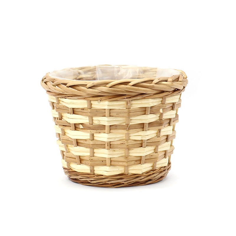 top large outdoor wicker planters supply for outdoor-1