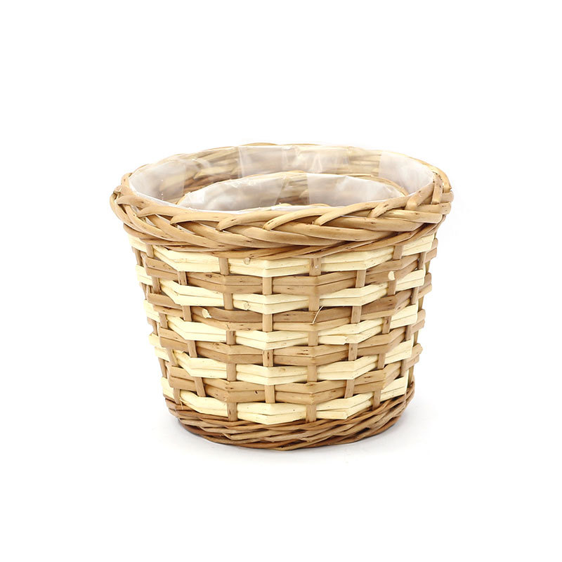 Best Honey Cutie Round Wicker Planter