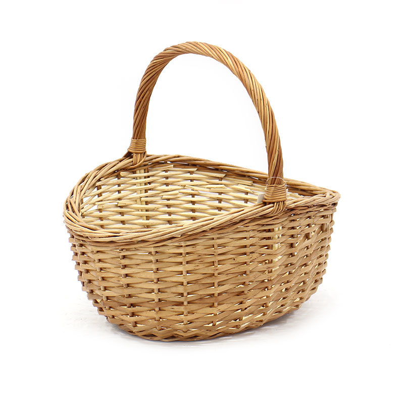 New Style Wicker Shopping Basket