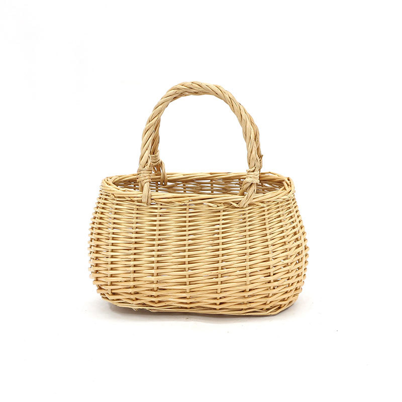 Honey Bag Wicker Shopping Basket