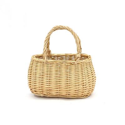 Honey Bag Wicker Shopping Basket