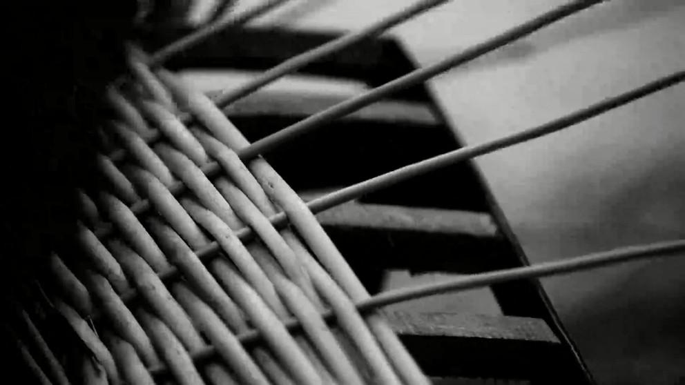 Natural willow basket manufacturring video