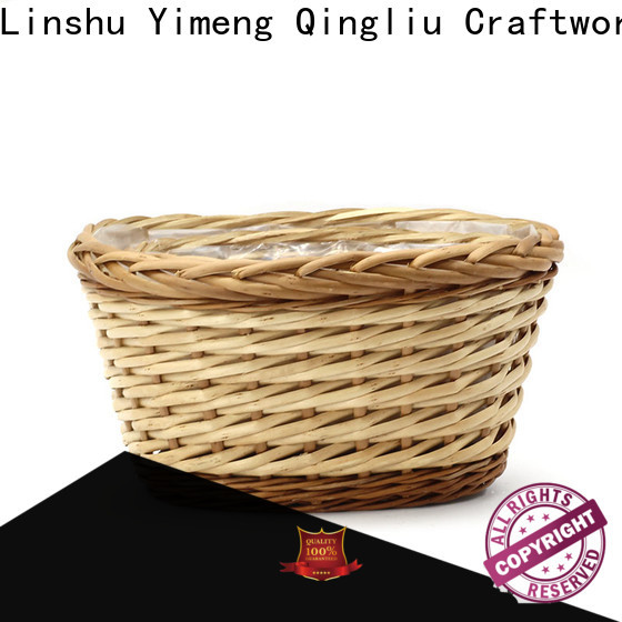 high-quality large wicker plant pot company for indoor