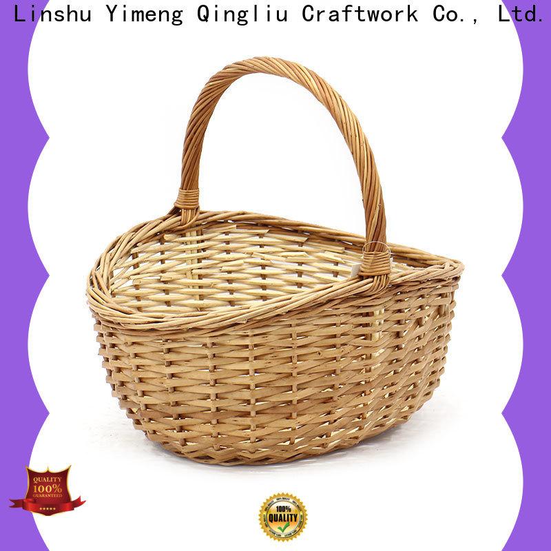 Yimeng Qingliu round rattan basket manufacturers for gift