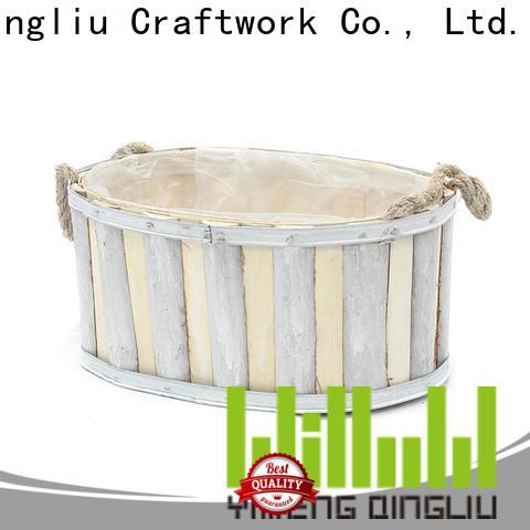 Yimeng Qingliu custom wooden planters for bamboo company for garden