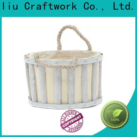 Yimeng Qingliu New wooden flower pot decoration suppliers for garden