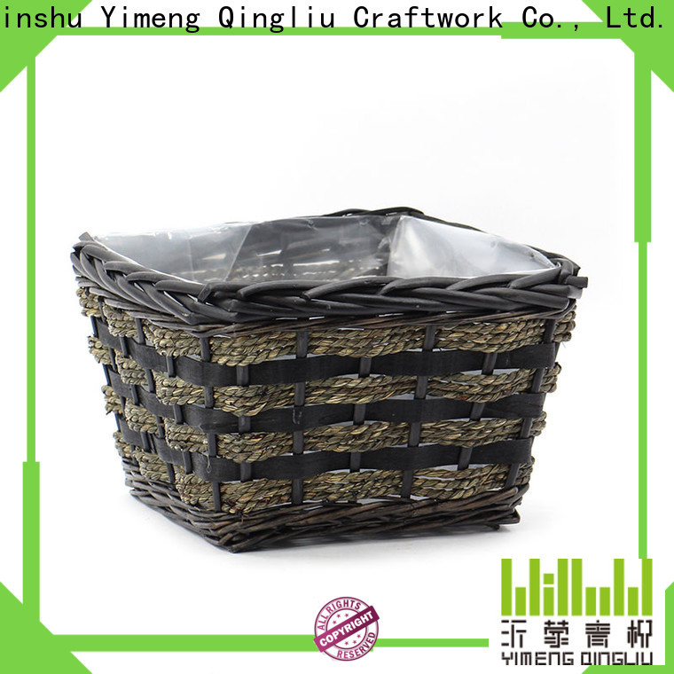 latest woven plant basket factory for garden