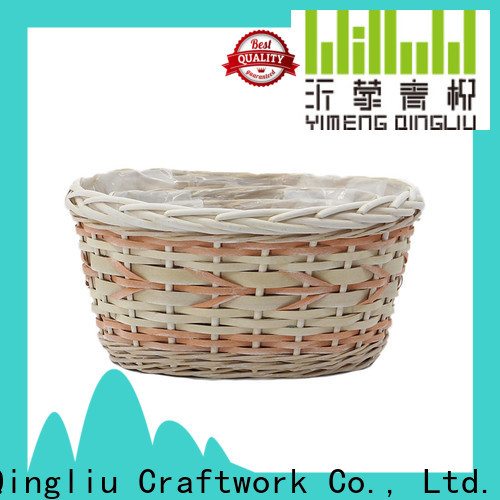 Yimeng Qingliu high-quality wicker flower pot company for outdoor