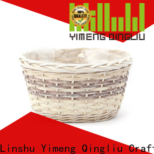Yimeng Qingliu all weather wicker planter for business for patio