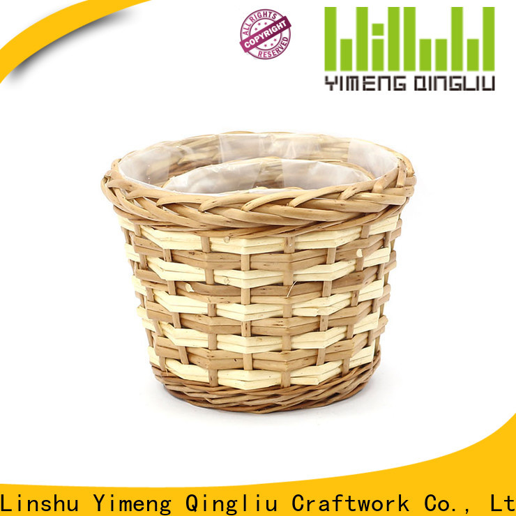 top large outdoor wicker planters supply for outdoor