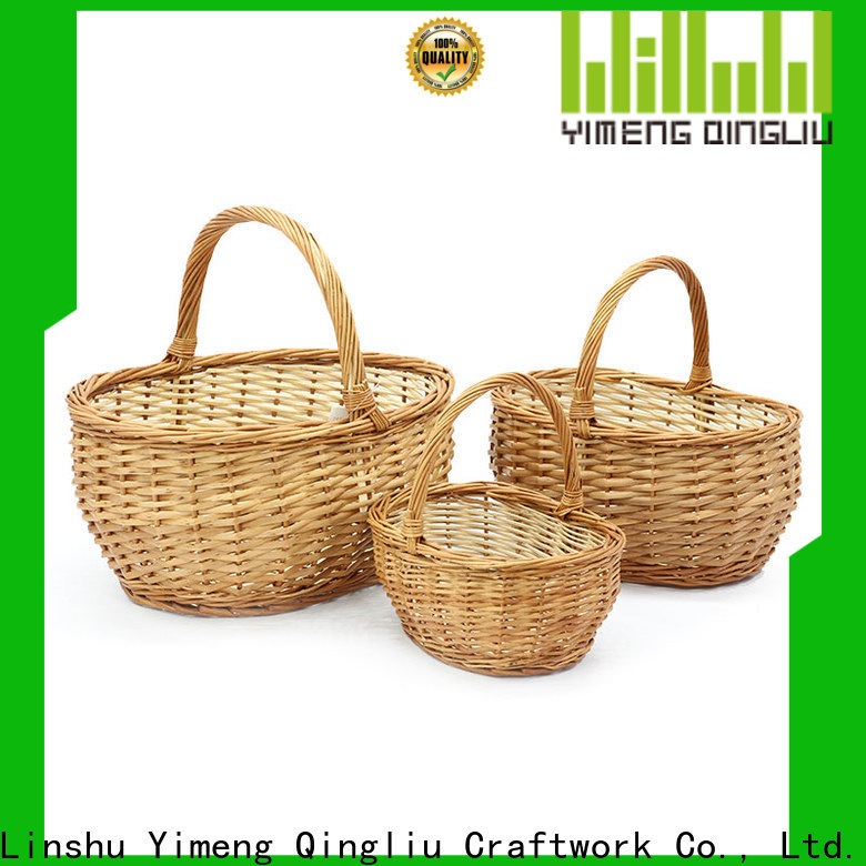 top wicker baskets for sale company for shopping