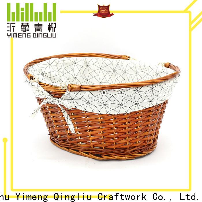 Yimeng Qingliu woven willow basket company for girl