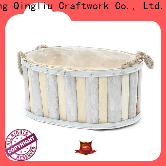 Yimeng Qingliu latest outdoor wooden flower pots manufacturers for outdoor