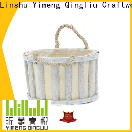 Yimeng Qingliu high-quality outdoor wooden flower pots for sale for garden