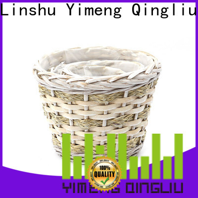 high-quality outdoor wicker plant pot suppliers for garden