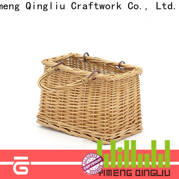 Yimeng Qingliu wicker market basket supply for present