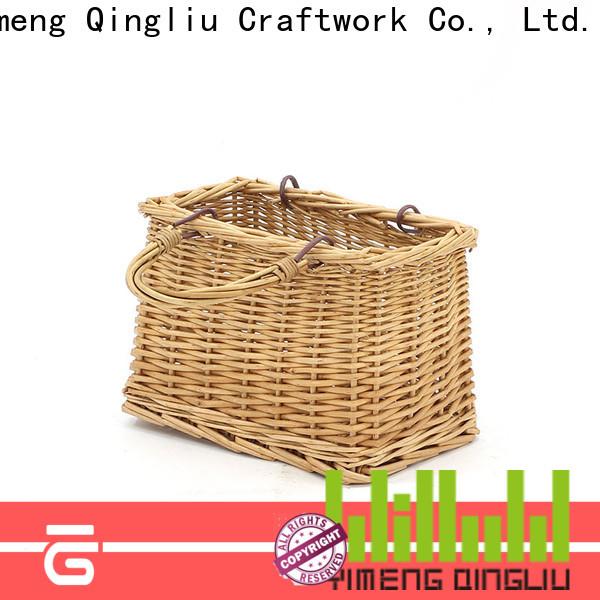 Yimeng Qingliu wicker market basket supply for present