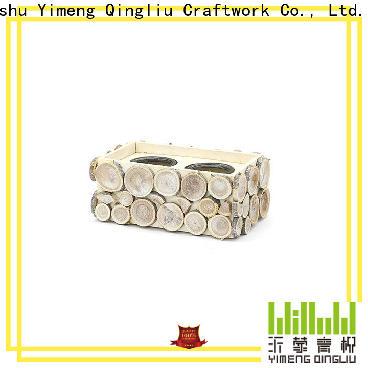 Yimeng Qingliu wooden flower pot decoration company for garden