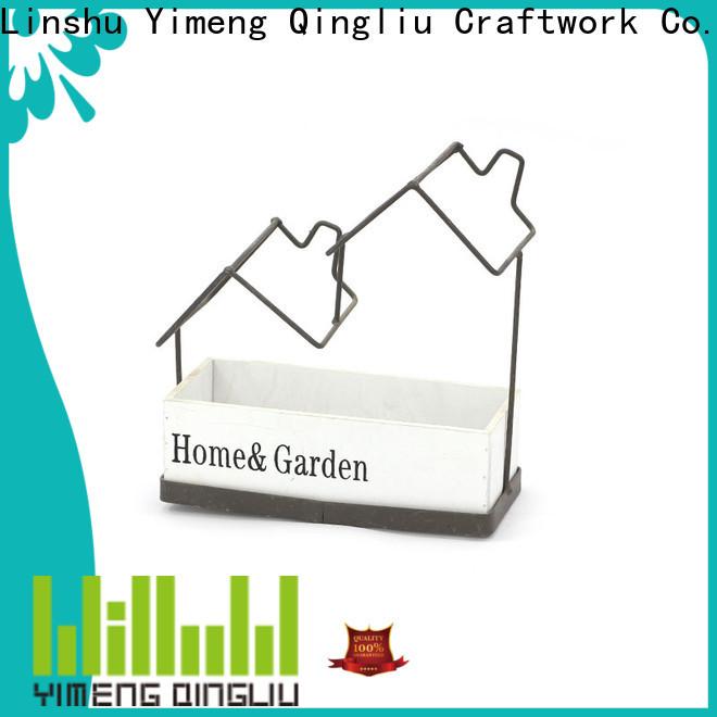 Yimeng Qingliu wicker baskets for outdoor plants factory for patio