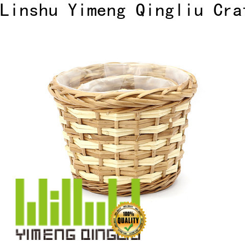 Yimeng Qingliu wicker plant holder company for outdoor