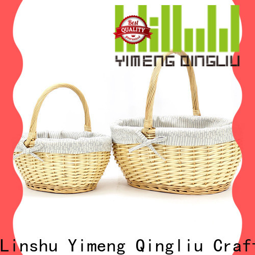 best wholesale wicker baskets manufacturers for outside