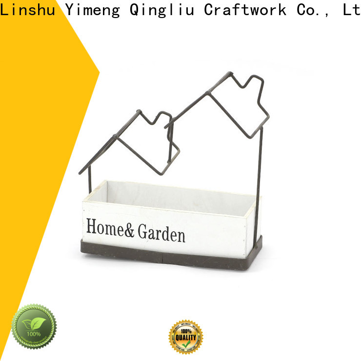 Yimeng Qingliu wholesale white wicker planter supply for indoor