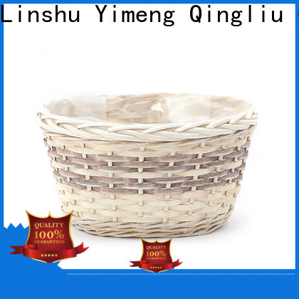 New wicker rattan planter for business for outdoor