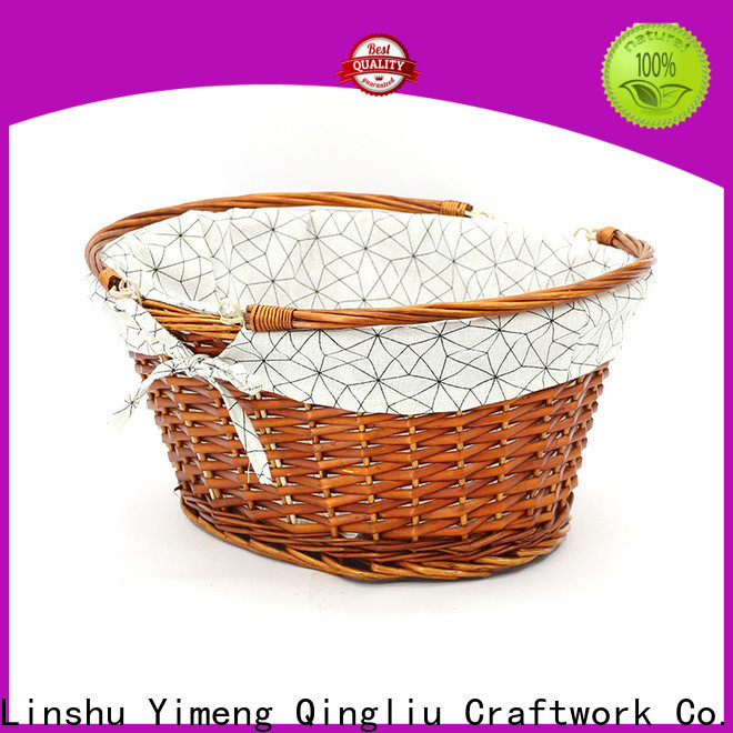 Yimeng Qingliu latest rectangular willow basket for business for present