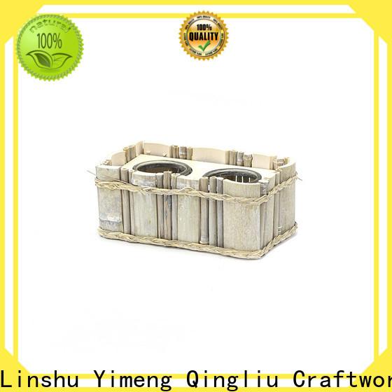Yimeng Qingliu custom wooden planters supply for patio