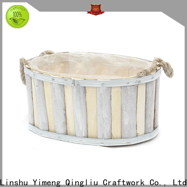 Yimeng Qingliu New custom made wooden planters suppliers for patio