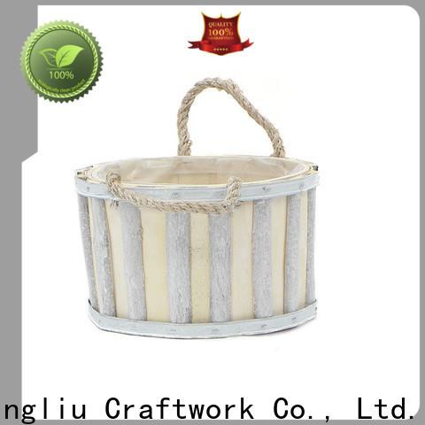 Yimeng Qingliu wooden flower pot hanger company for garden