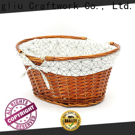 Yimeng Qingliu rattan wicker basket factory for outdoor