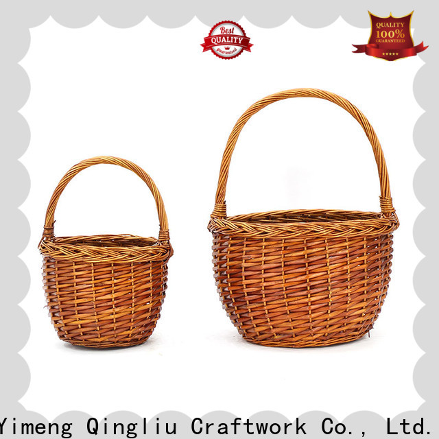 Yimeng Qingliu handmade willow baskets for business for gift