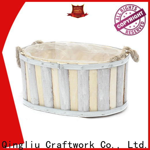 latest homemade wooden flower pots for business for outdoor