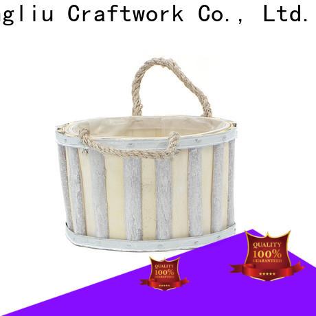Yimeng Qingliu best wooden flower pot factory for outdoor