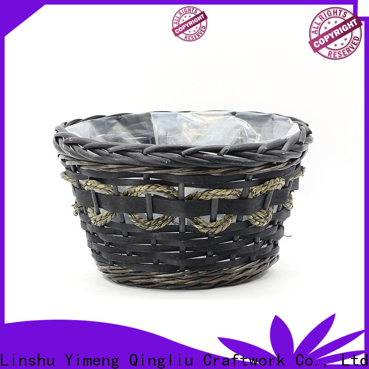 Yimeng Qingliu best large wicker plant basket manufacturers for indoor