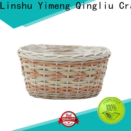 Yimeng Qingliu top willow flower pot factory for patio