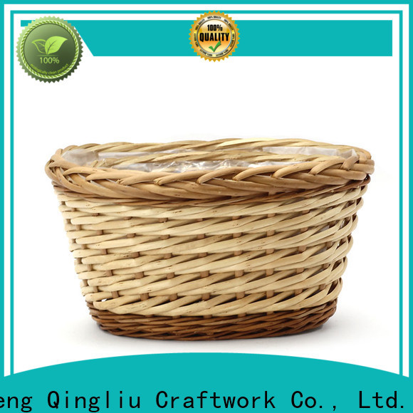 Yimeng Qingliu latest hanging wicker basket planter company for indoor