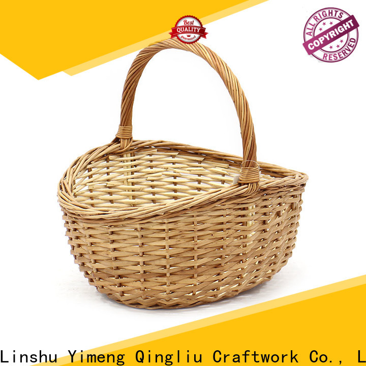 top willow gift basket manufacturers for outdoor