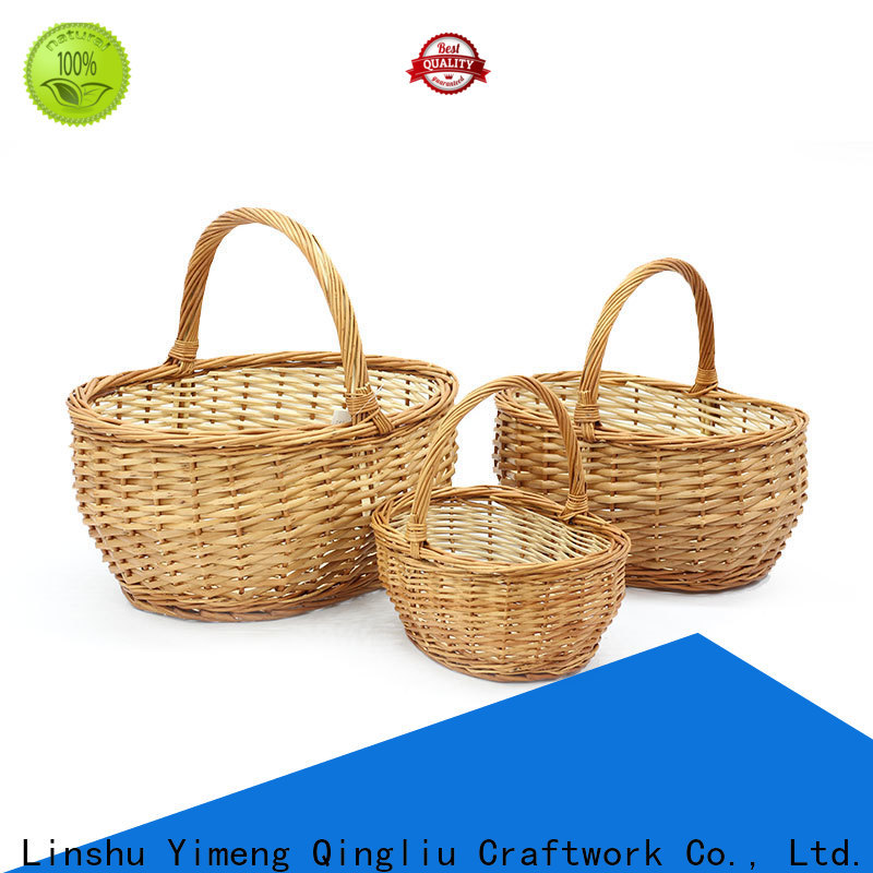 Yimeng Qingliu New flowers and wine gift basket manufacturers for present
