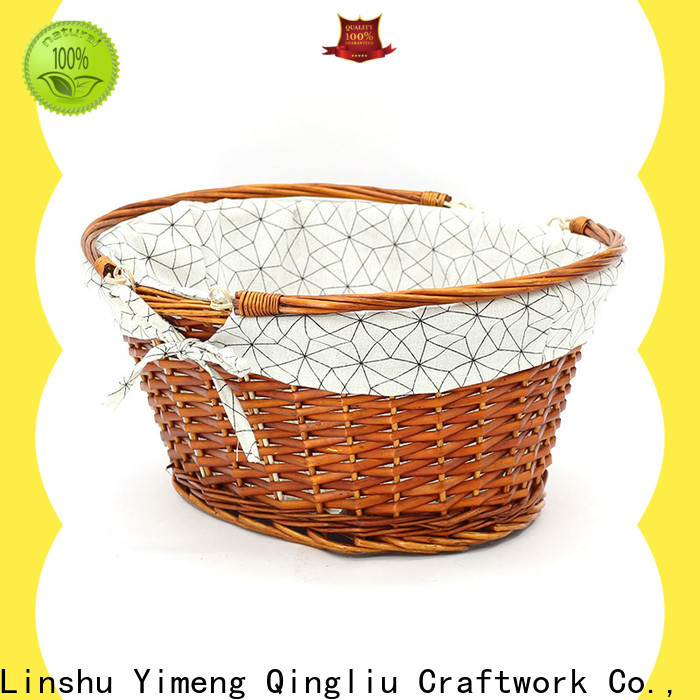 Yimeng Qingliu willow baskets for sale suppliers for shopping