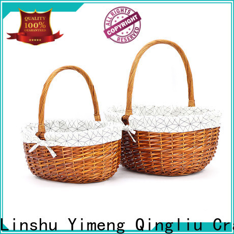 New tiny wicker baskets for business for girl