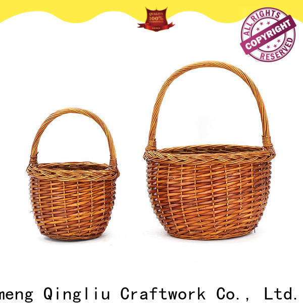 Yimeng Qingliu New small wicker storage baskets suppliers for present