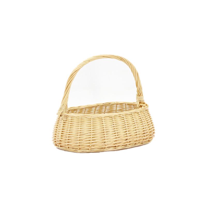 Exquisite Honey Pot Wicker Shopping Basket