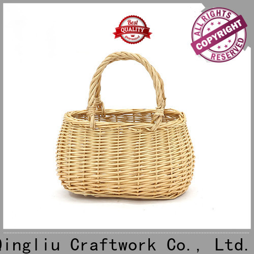 high-quality bamboo wicker basket company for boy
