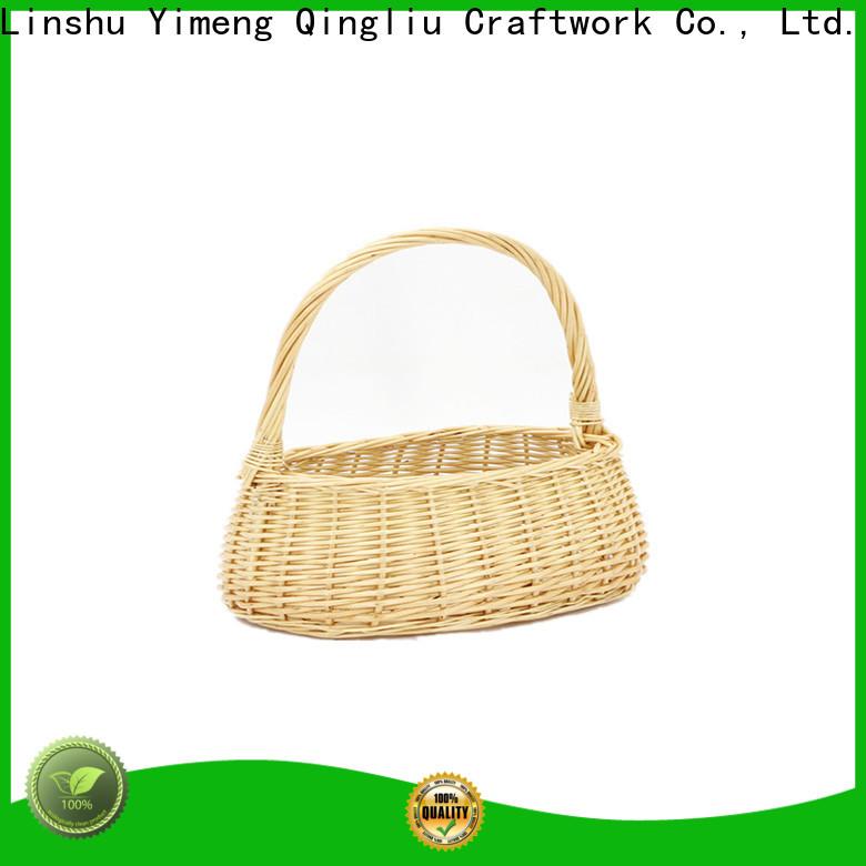 Yimeng Qingliu wicker picnic basket company for outdoor