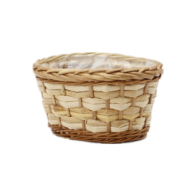 Standard Oval Wicker Plant Pot